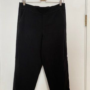 Club Monaco Black Relaxed Trousers - Size 8